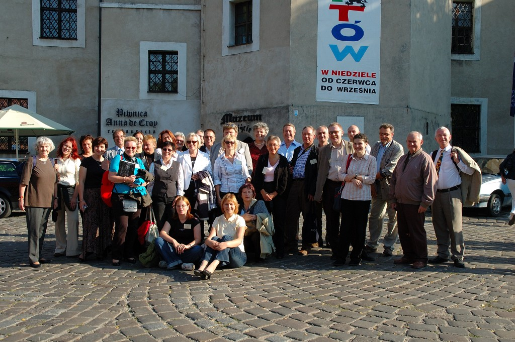 Some of the delegates at the General Assembly at Slubsk Castle Poland September 2006